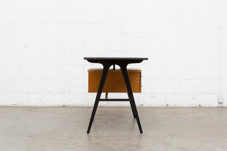 Mid-20th Century Coen de Vries Style Multicolored Writing Desk For Sale
