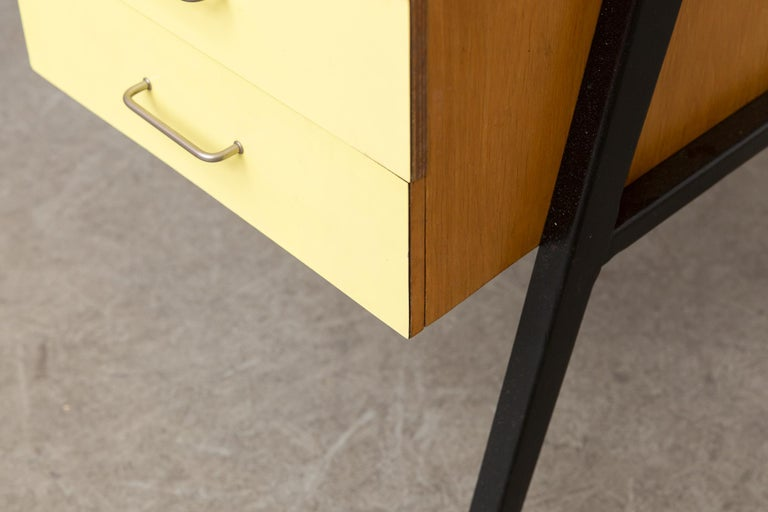 Coen de Vries Style Multicolored Writing Desk For Sale 6