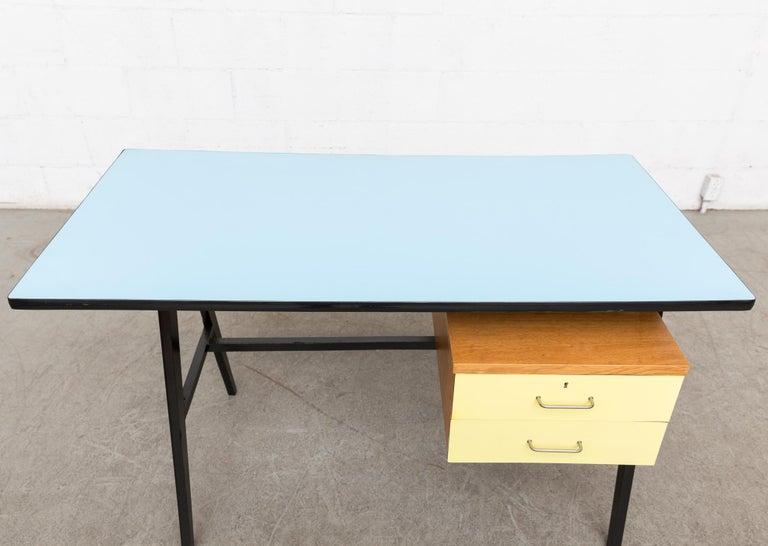 Coen de Vries Style Multicolored Writing Desk For Sale 1