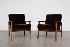 Pair of Mid-Century Danish Lounge Chairs