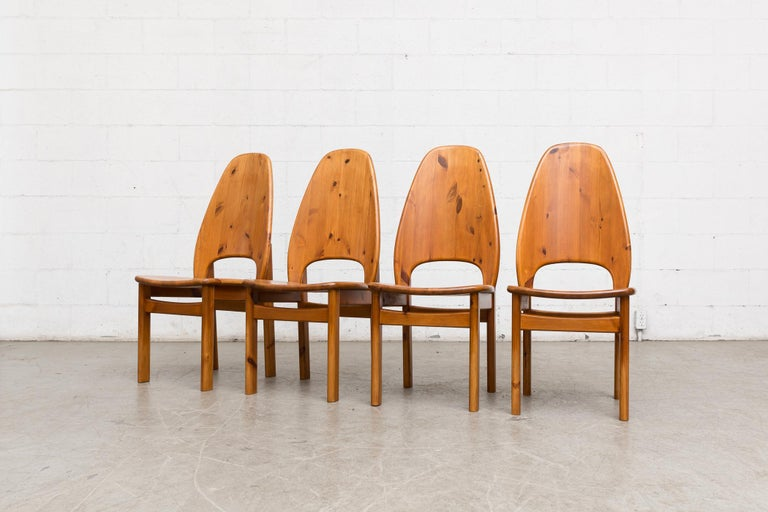 Mid-Century Modern Glostrup Møbelfabrik Danish Pine Dining Set For Sale