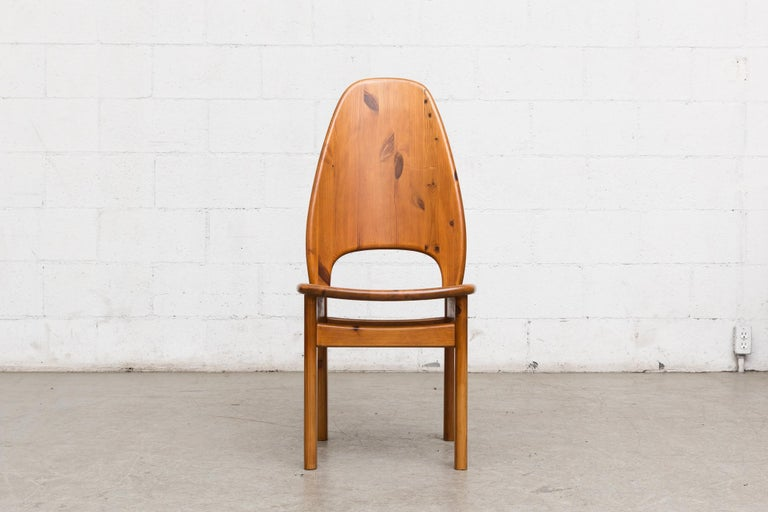 Glostrup Møbelfabrik Danish Pine Dining Set In Good Condition For Sale In Los Angeles, CA
