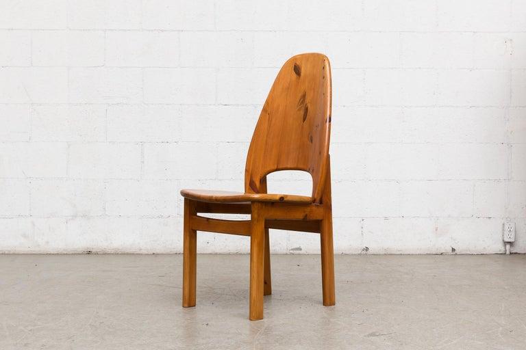 Late 20th Century Glostrup Møbelfabrik Danish Pine Dining Set For Sale
