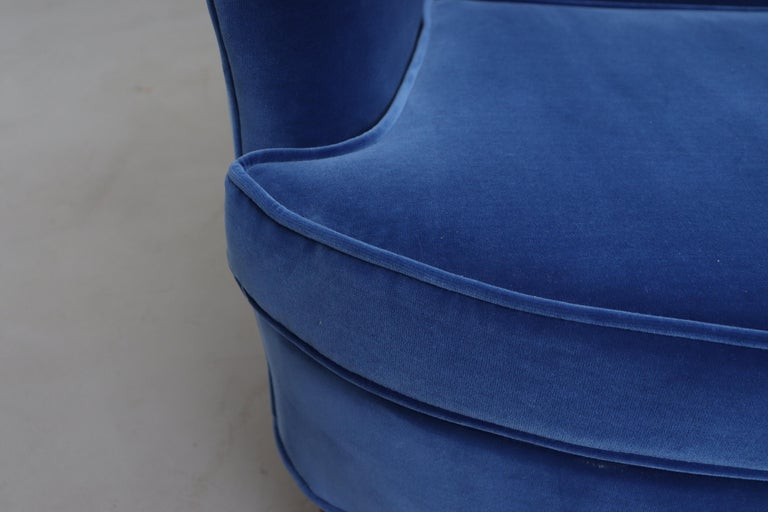 Theo Ruth Cobalt Blue Sofa by Artifort For Sale 7