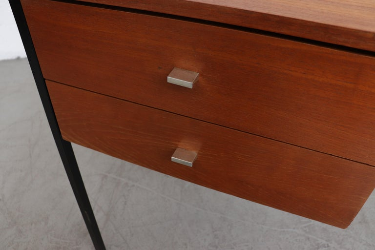 Pierre Guariche Teak Writing Desk for Meurop For Sale 2