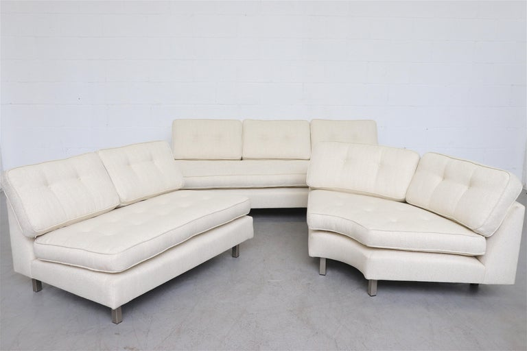 Artifort 3-Piece Sectional Sofa by Geoffrey Harcourt In Good Condition For Sale In Los Angeles, CA