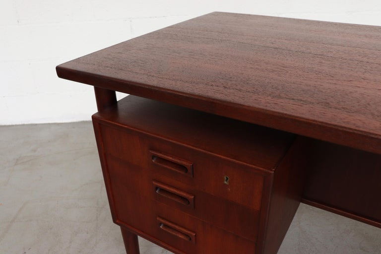 William Watting Style Floating Top Desk For Sale 4