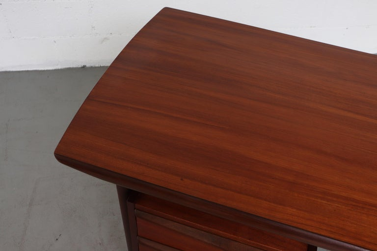 Wébé Style Teak Writing Desk For Sale 1