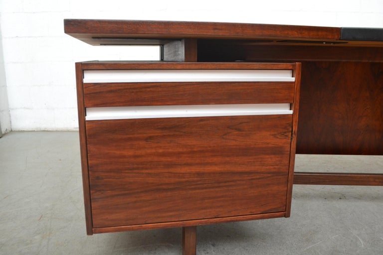 Fristho Executive Rosewood Desk For Sale 8