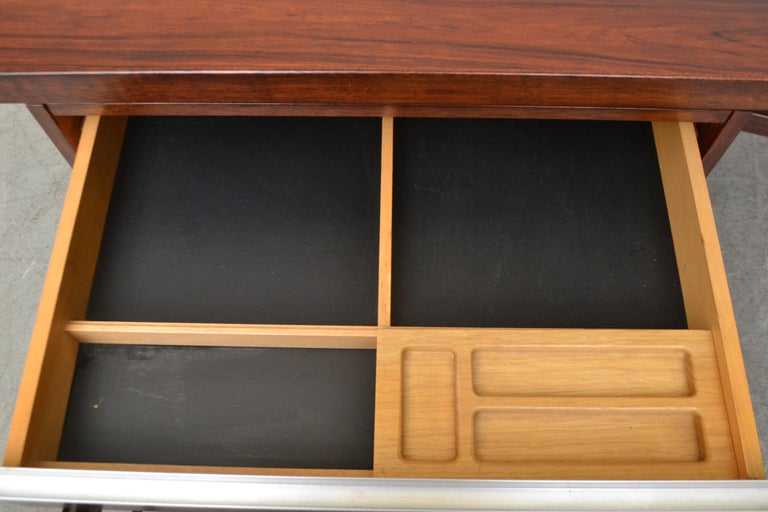 Fristho Executive Rosewood Desk For Sale 10