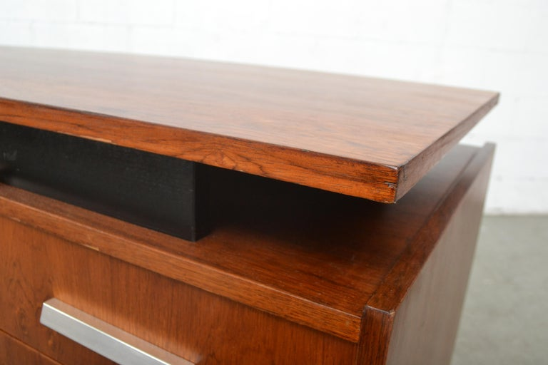 Cees Braakman Teak Desk for Pastoe For Sale 3