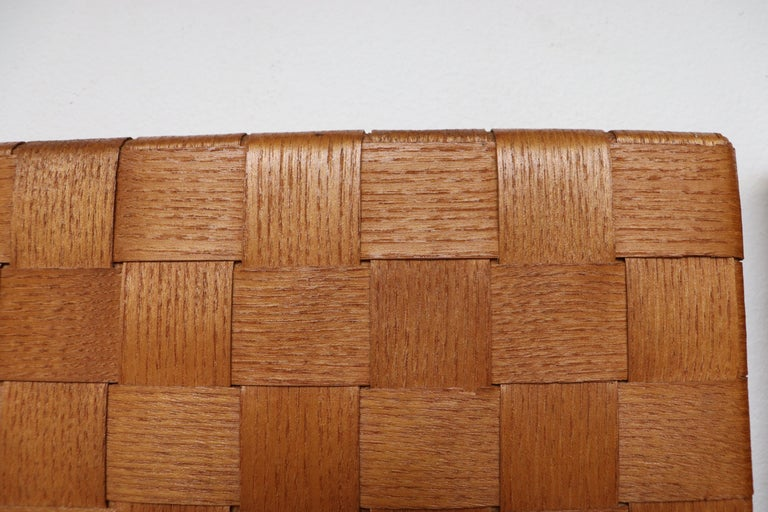 Midcentury Woven Rattan Wall Mount Hall Unit For Sale 3