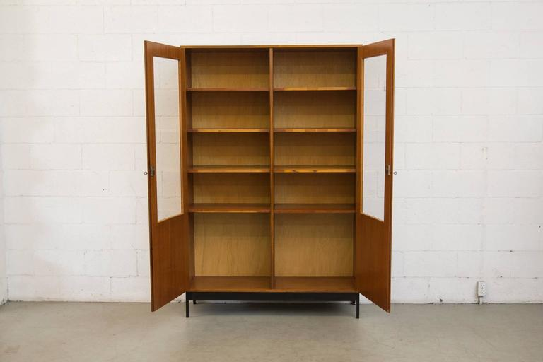 Amazing Display Cabinet, China Cabinet, Office Book Shelf! Bleached  Mahogany Case With Double