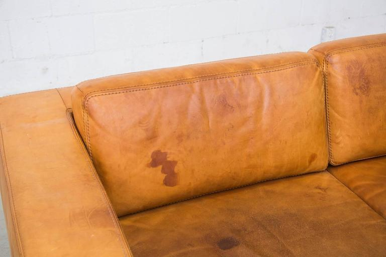 Natural Leather Two Cushion Sofa by Durlet at 1stdibs : C8A5353l from www.1stdibs.com size 768 x 512 jpeg 32kB