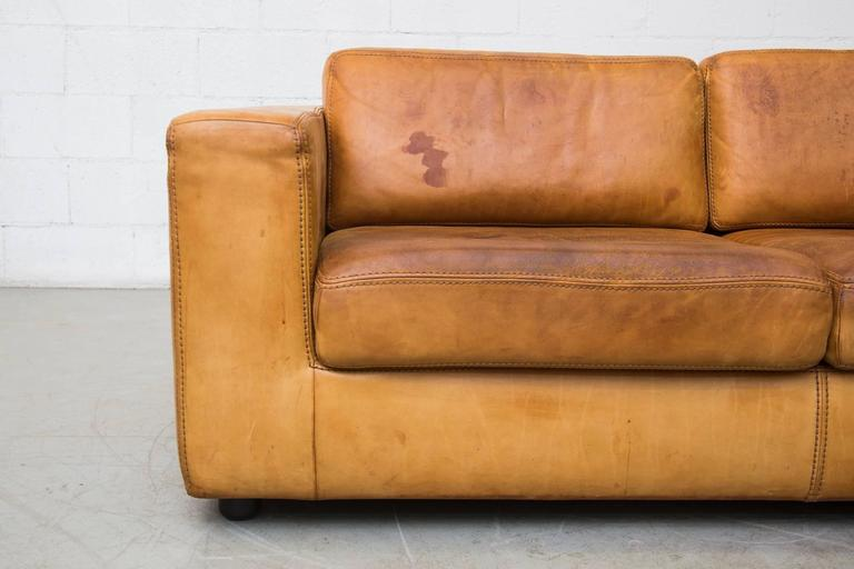 Natural Leather Two Cushion Sofa by Durlet at 1stdibs : C8A5357l from www.1stdibs.com size 768 x 512 jpeg 35kB