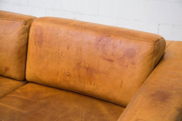 Natural Leather Two Cushion Sofa by Durlet at 1stdibs : C8A5362l from www.1stdibs.com size 768 x 512 jpeg 35kB
