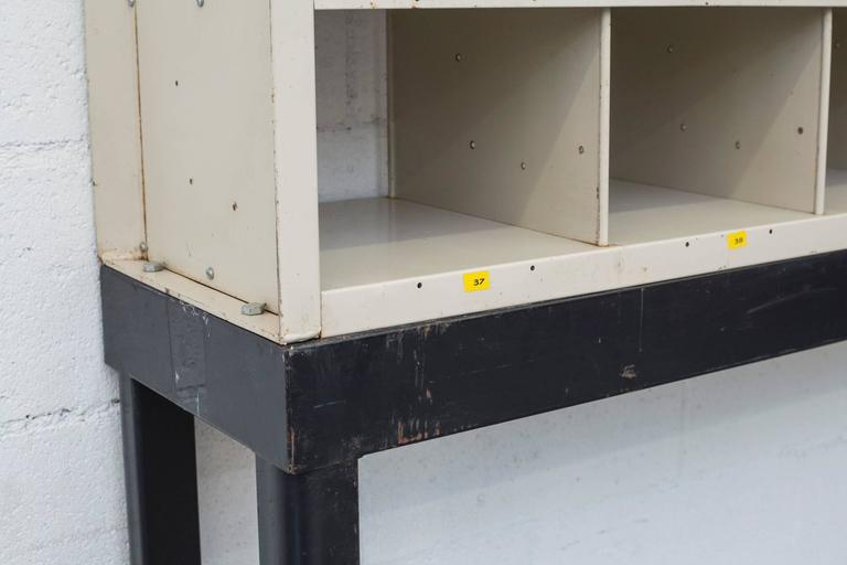 Mid-20th Century Vintage Dutch Postal Cubbies For Sale