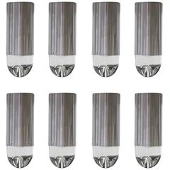 RAAK P-1414 Glass Ice Cube Style Ceiling Lights