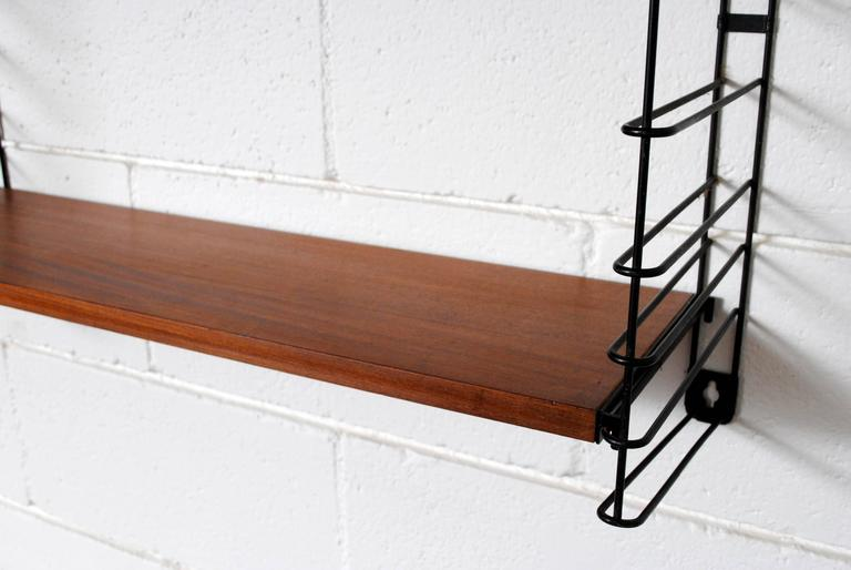 Adriaan Dekker for Tomado, Three Section Wall Mount Bookshelf 7