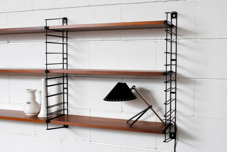 Adriaan Dekker for Tomado, Three Section Wall Mount Bookshelf 4