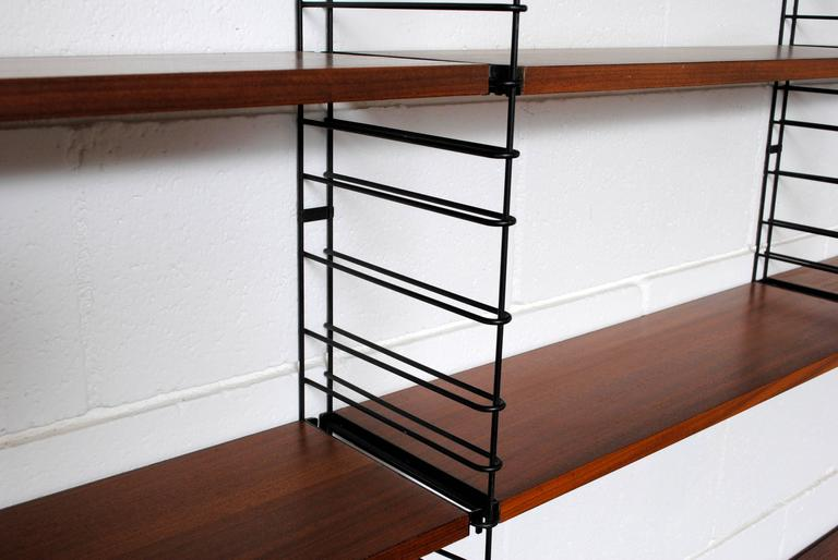 Adriaan Dekker for Tomado, Three Section Wall Mount Bookshelf 5