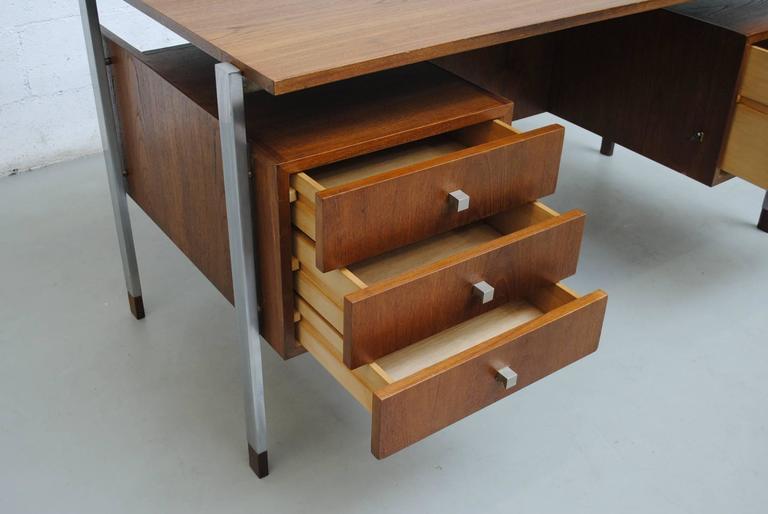 Alfred Hendrickx attributed Teak Writing Desk 4