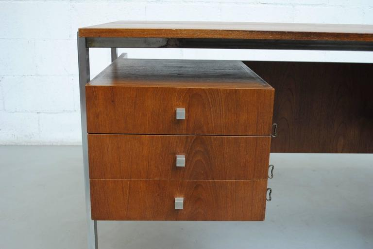 Alfred Hendrickx attributed Teak Writing Desk For Sale 1