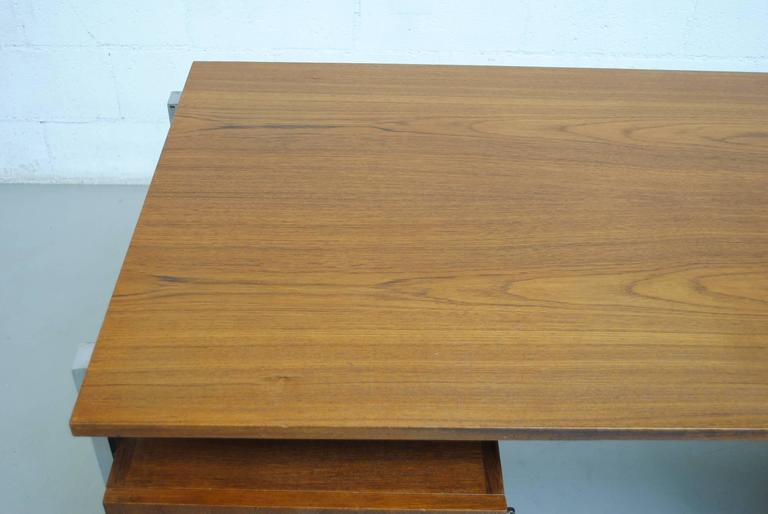 Alfred Hendrickx attributed Teak Writing Desk For Sale 2