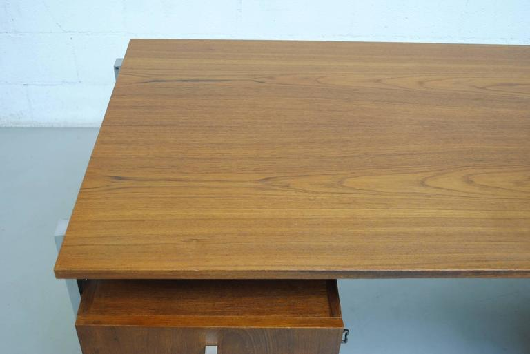 Alfred Hendrickx attributed Teak Writing Desk For Sale 3