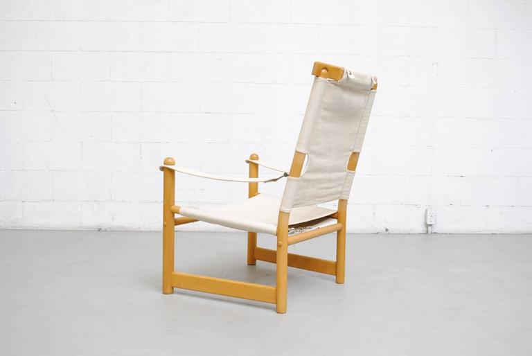 Canvas Safari Campaign Chair 4