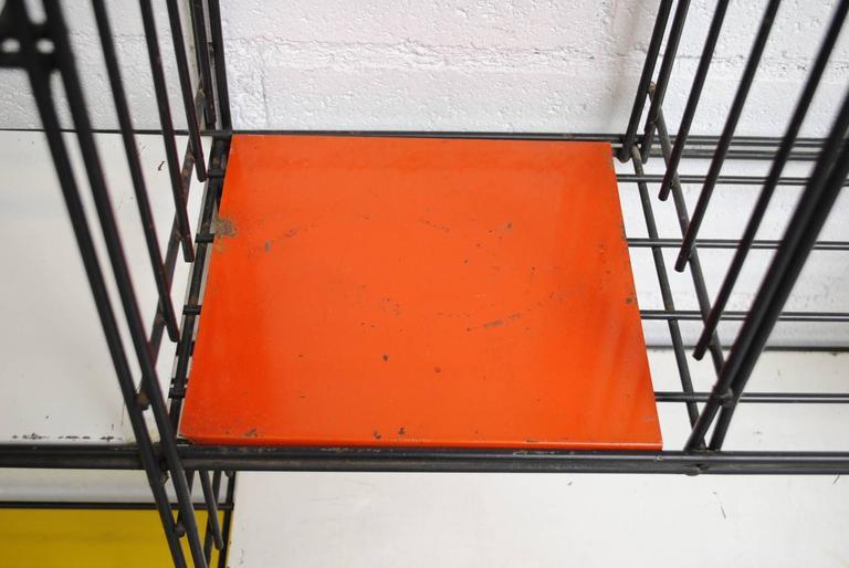Tjerk Reijenga for Pilastro Standing Wire Bookshelf 7