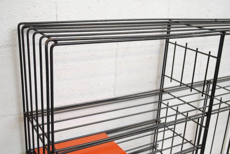 Tjerk Reijenga for Pilastro Standing Wire Bookshelf 5