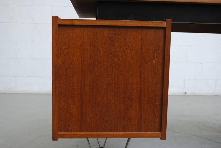 Cees Braakman Desk with Hairpin Legs For Sale 1