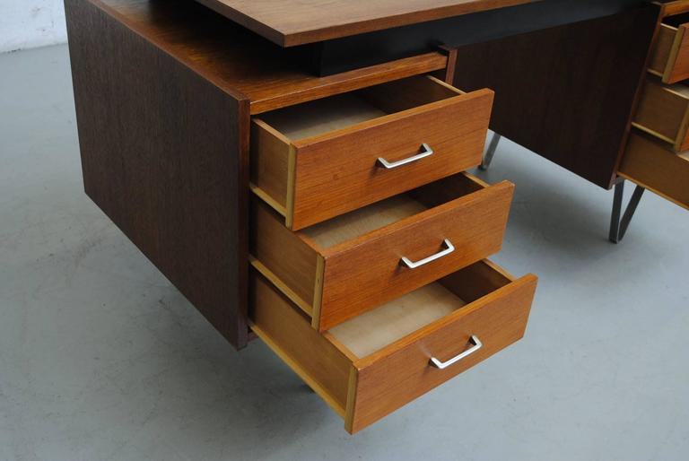 Cees Braakman Desk with Hairpin Legs For Sale 3
