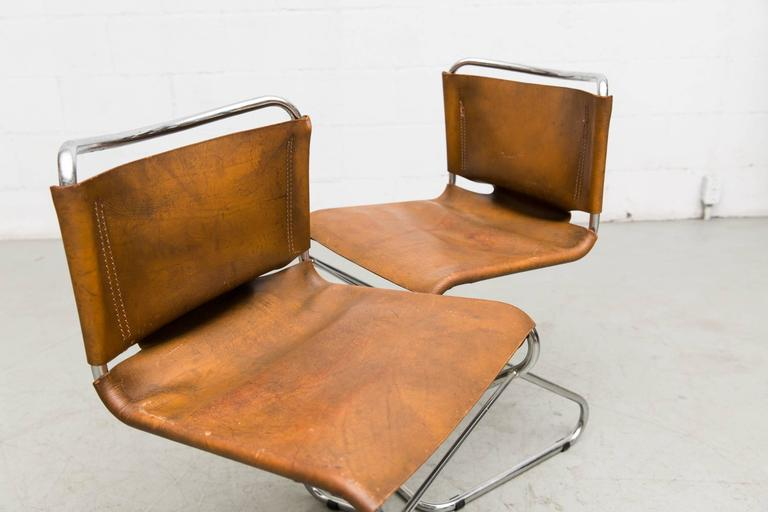 Set of Six Biscia Chairs by Pascal Mourgue for Steiner Meubles For Sale 2