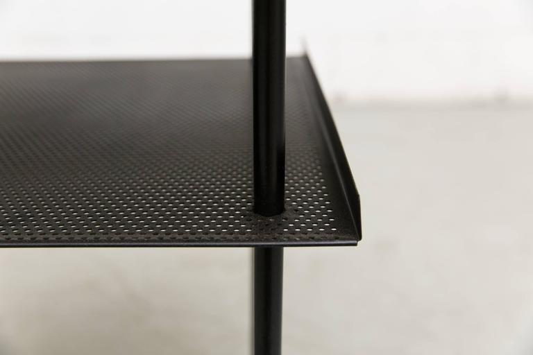Wim Rietveld for Auping Industrial Side Table In Good Condition For Sale In Los Angeles, CA