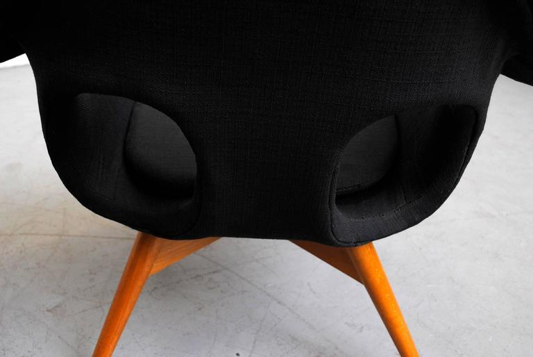 Pair of Bucket Lounge Chairs by Miroslav Navrátil for Vertex 7