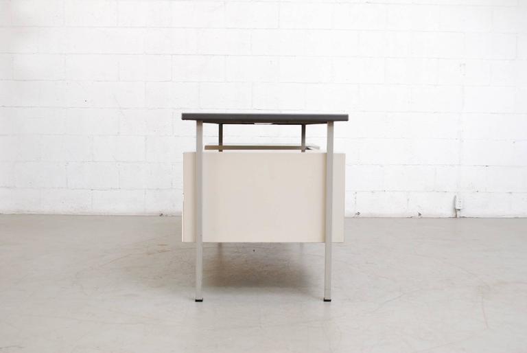 Mid-Century Modern Gispen Industrial Desk by a.R. Cordemeyer For Sale