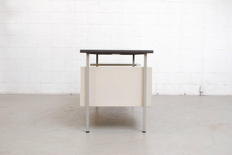 Mid-Century Modern Gispen Industrial Desk by a.R. Cordemeyer For Sale
