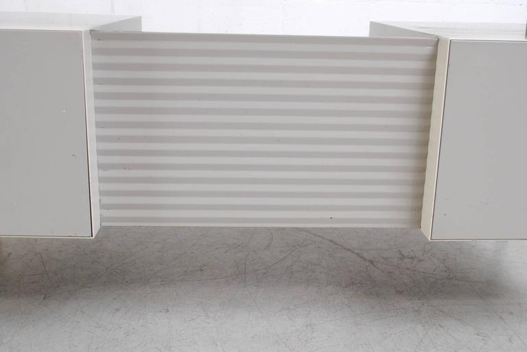Metal Gispen Industrial Desk by a.R. Cordemeyer For Sale