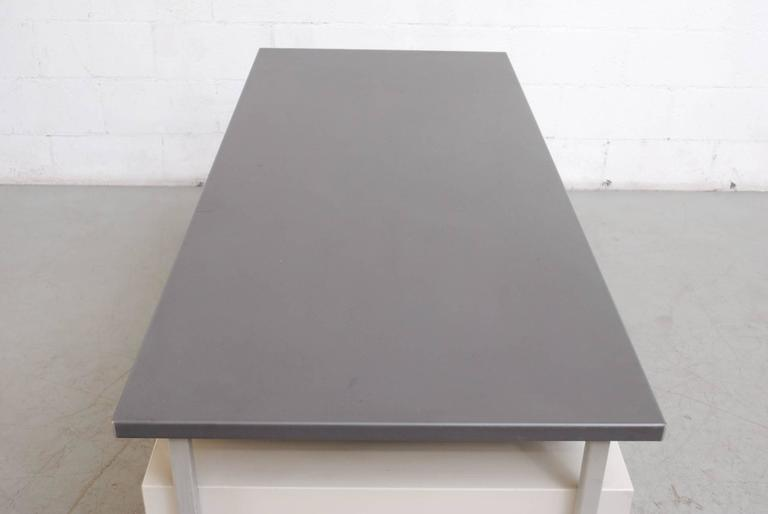 Mid-20th Century Gispen Industrial Desk by a.R. Cordemeyer For Sale