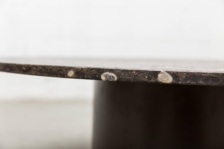 Rare Round Fossil Metaform Coffee Table 4