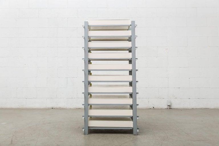 De Stijl Gerrit Rietveld Designed Filing Cabinet for Dr. Hartog For Sale