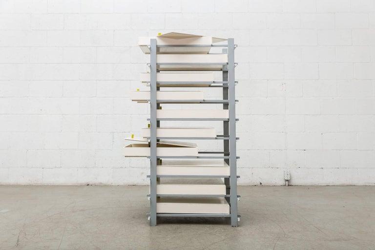 Dutch Gerrit Rietveld Designed Filing Cabinet for Dr. Hartog For Sale