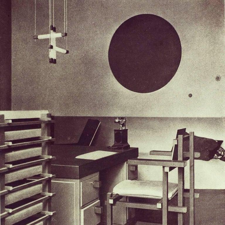 Gerrit Rietveld Designed Filing Cabinet for Dr. Hartog For Sale 3