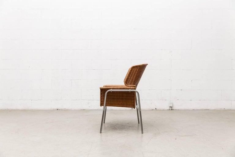 Rare Dirk Van Sliedregt Rattan Throne Lounge Chair 3