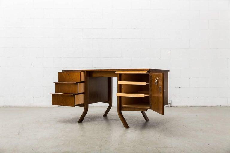 Dutch Cees Braakman Desk for Pastoe For Sale