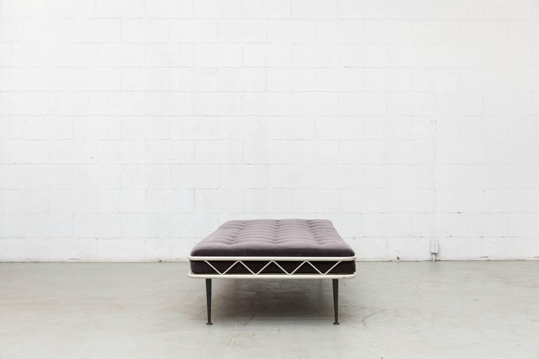 Mid-Century Modern Rare Wim Rietveld Arielle Daybed for Auping, 1953 For Sale