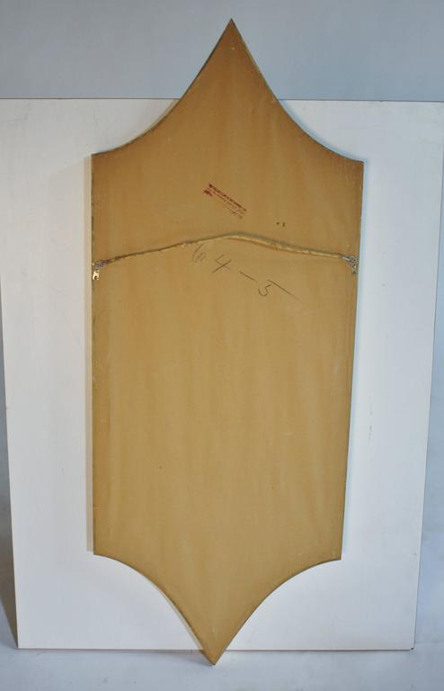 Mid-20th Century Hollywood Regency Gold Gilt Mirror For Sale