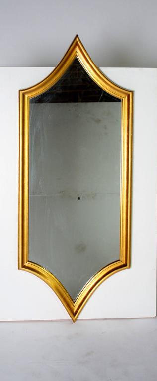 Hollywood Regency Gold Gilt Mirror 6